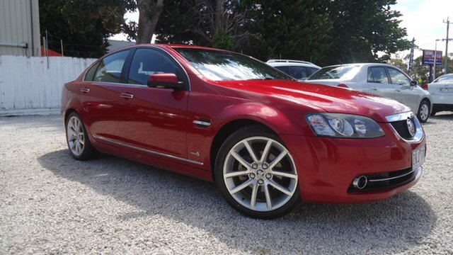 Used Holden Calais VE II MY12 V Seaford, 2011 Holden Calais VE II MY12 V Red 6 Speed Sports Automatic Sedan