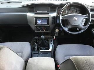 2006 Nissan Patrol GU IV MY05 ST Gold 5 Speed Manual Wagon