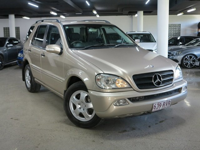 Used Mercedes-Benz M-Class W163 MY04 ML270 CDI Luxury Albion, 2003 Mercedes-Benz M-Class W163 MY04 ML270 CDI Luxury Gold 5 Speed Sports Automatic Wagon
