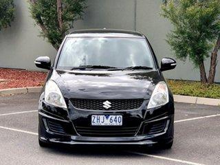 2012 Suzuki Swift FZ GL Black 4 Speed Automatic Hatchback.
