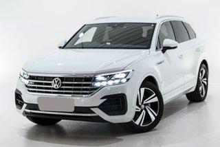 2019 Volkswagen Touareg CR MY20 190TDI Tiptronic 4MOTION Premium White 8 Speed Sports Automatic.