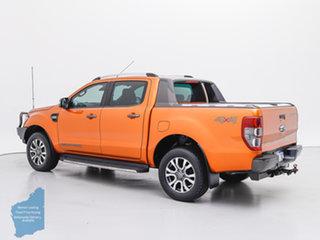 2016 Ford Ranger PX MkII Wildtrak 3.2 (4x4) Orange 6 Speed Automatic Dual Cab Pick-up