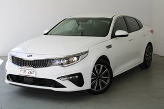 2019 Kia Optima JF MY20 SI White 6 Speed Sports Automatic Sedan