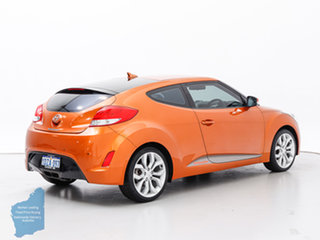 2012 Hyundai Veloster FS Orange 6 Speed Manual Coupe