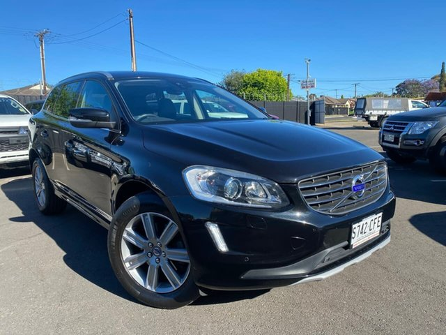 Used Volvo XC60 DZ MY16 T5 Geartronic Luxury Hillcrest, 2015 Volvo XC60 DZ MY16 T5 Geartronic Luxury Black 8 Speed Sports Automatic Wagon