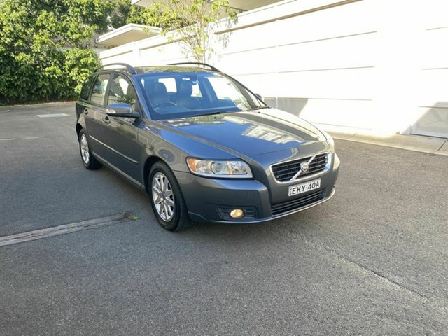 Used Volvo V50 MY09 S Zetland, 2009 Volvo V50 MY09 S Grey 5 Speed Sports Automatic Wagon