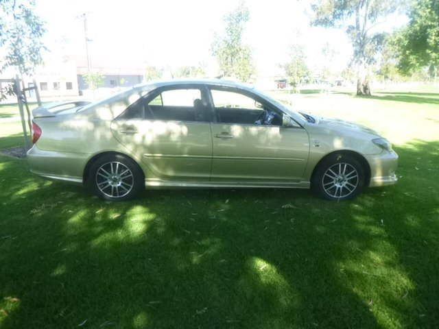 Used Toyota Camry MCV36R Sportivo Beverley, 2002 Toyota Camry MCV36R Sportivo Gold 4 Speed Automatic Sedan