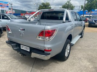 2014 Mazda BT-50 UP0YF1 XTR Silver 6 Speed Sports Automatic Utility