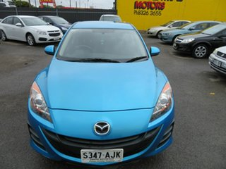 2010 Mazda 3 BL 10 Upgrade Neo Blue 5 Speed Automatic Hatchback.