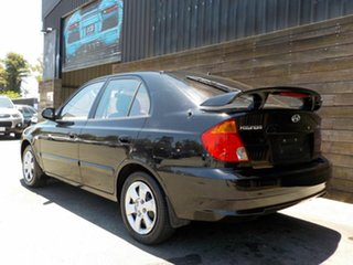 2005 Hyundai Accent LC MY04 GL Black 5 Speed Manual Hatchback