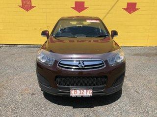 2014 Holden Captiva Maroon 4 Speed Auto Active Select Wagon.