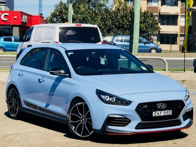 Used Hyundai i30 PDe MY18 N Performance Liverpool, 2018 Hyundai i30 PDe MY18 N Performance Blue 6 Speed Manual Hatchback
