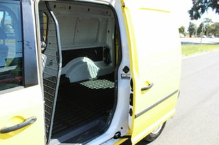 2013 Volkswagen Caddy 2KN MY14 TDI250 BlueMOTION Maxi DSG Yellow 7 Speed