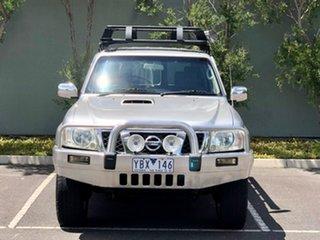 2005 Nissan Patrol GU IV MY05 ST Silver 5 Speed Manual Wagon.