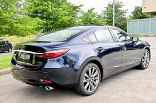 2019 Mazda 6 GL1032 Atenza SKYACTIV-Drive Deep Crystal Blue 6 Speed Sports Automatic Sedan