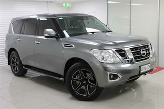2018 Nissan Patrol Y62 Series 4 TI-L Gun Metallic 7 Speed Sports Automatic Wagon.