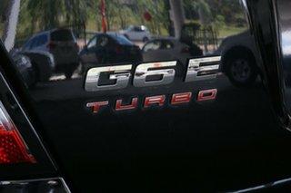 2008 Ford Falcon FG G6E Turbo Black 6 Speed Sports Automatic Sedan
