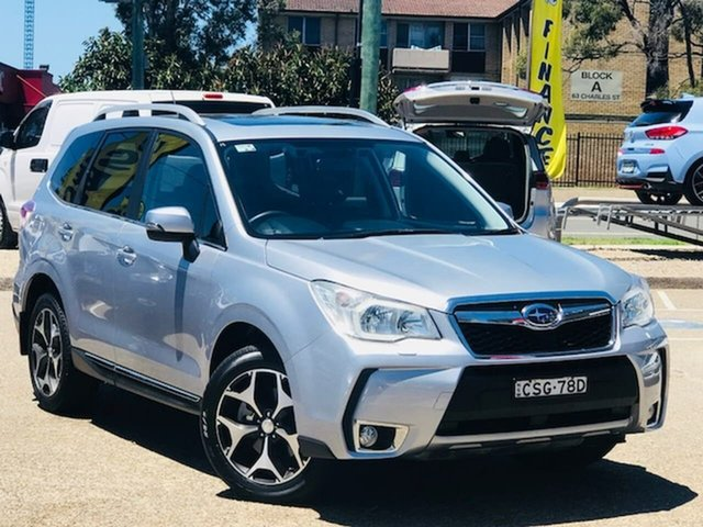 Used Subaru Forester S4 MY14 XT Lineartronic AWD Premium Liverpool, 2014 Subaru Forester S4 MY14 XT Lineartronic AWD Premium Silver, Chrome 8 Speed Constant Variable