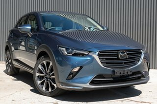 2020 Mazda CX-3 CX-3 E 6AUTO AKARI PETROL FWD Eternal Blue Wagon.