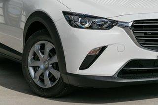 2020 Mazda CX-3 CX-3 E 6AUTO NEO SPORT PETROL FWD Snowflake White Pearl Wagon.