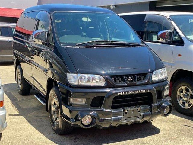Used Mitsubishi Delica Leichhardt, 2006 Mitsubishi Delica PD6W Spacegear Chamonix Black Automatic Van Wagon