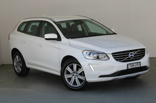 2016 Volvo XC60 DZ MY17 D4 Geartronic AWD Kinetic White 6 Speed Sports Automatic Wagon.