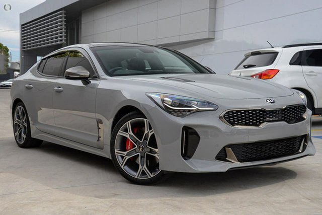 Demo Kia Stinger CK MY20 GT Fastback Reynella, 2020 Kia Stinger CK MY20 GT Fastback Grey 8 Speed Sports Automatic Sedan