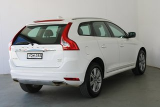 2016 Volvo XC60 DZ MY17 D4 Geartronic AWD Kinetic White 6 Speed Sports Automatic Wagon