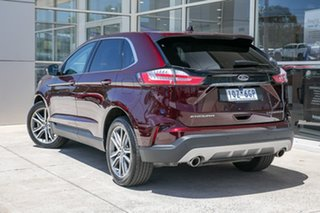 2019 Ford Endura CA 2019MY Titanium Burgundy 8 Speed Sports Automatic Wagon