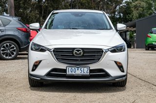 2019 Mazda CX-3 DK2W7A Akari SKYACTIV-Drive FWD White 6 Speed Sports Automatic Wagon