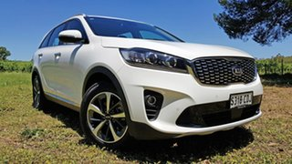 2019 Kia Sorento UM MY19 Sport White 8 Speed Sports Automatic Wagon.