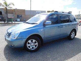 2007 Kia Carnival VQ MY07 EX Blue 4 Speed Sports Automatic Wagon.