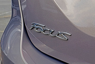 2012 Ford Focus LW Titanium PwrShift Grey 6 Speed Sports Automatic Dual Clutch Sedan