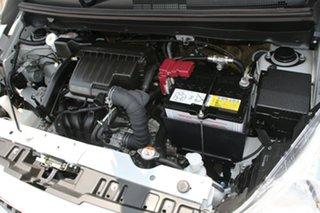 2016 Mitsubishi Mirage LA MY16 ES White 5 Speed Manual Hatchback