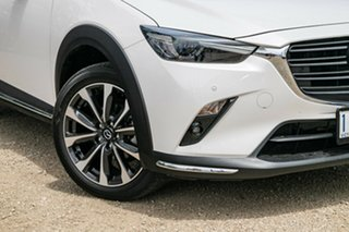 2019 Mazda CX-3 DK2W7A Akari SKYACTIV-Drive FWD White 6 Speed Sports Automatic Wagon.