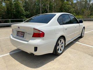 2008 Subaru Liberty MY08 2.5I White 4 Speed Auto Elec Sportshift Sedan.