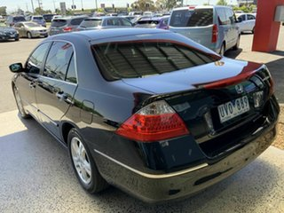 2007 Honda Accord 40 MY06 Upgrade VTi-L Black 5 Speed Automatic Sedan