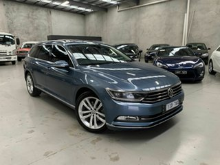2015 Volkswagen Passat 3C (B8) MY16 140TDI DSG Highline Blue 6 Speed Sports Automatic Dual Clutch.