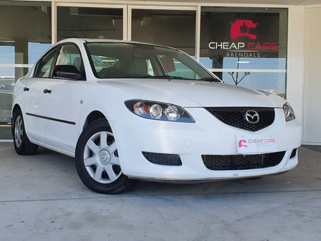 Used Mazda 3 BK10F1 Neo Brendale, 2006 Mazda 3 BK10F1 Neo White 5 Speed Manual Sedan