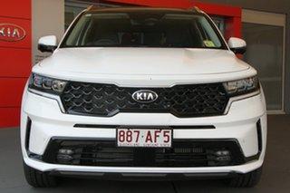 2020 Kia Sorento MQ4 MY21 GT-Line AWD Clear White 8 Speed Sports Automatic Dual Clutch Wagon.