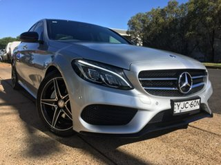 2016 Mercedes-Benz C-Class W205 C200 Silver Sports Automatic.