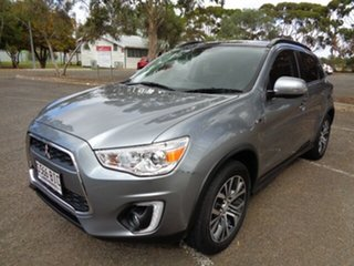 2015 Mitsubishi ASX XB MY15 XLS 2WD Grey 6 Speed Constant Variable Wagon
