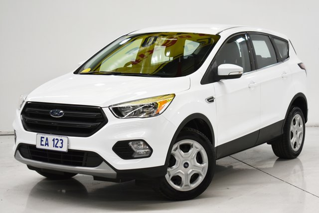 Used Ford Escape ZG Ambiente Brooklyn, 2017 Ford Escape ZG Ambiente White 6 Speed Sports Automatic SUV