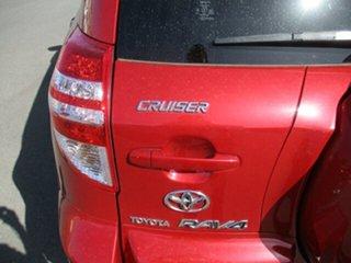 2009 Toyota RAV4 ACA33R MY09 Cruiser Red 5 Speed Manual Wagon