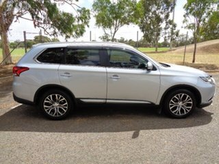 2016 Mitsubishi Outlander ZK MY16 LS 2WD Silver 5 Speed Manual Wagon