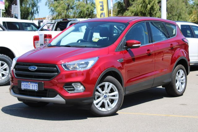 Used Ford Escape ZG 2019.75MY Ambiente Midland, 2019 Ford Escape ZG 2019.75MY Ambiente Red 6 Speed Sports Automatic SUV