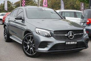 2019 Mercedes-Benz GLC-Class C253 809MY GLC43 AMG Coupe 9G-Tronic 4MATIC Grey 9 Speed.