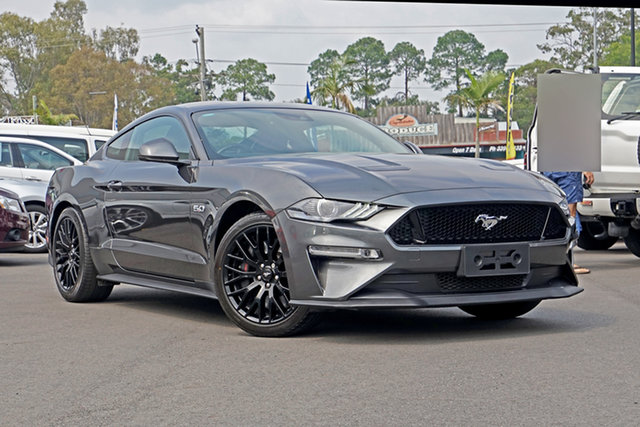 Used Ford Mustang FN 2018MY GT Fastback SelectShift Capalaba, 2018 Ford Mustang FN 2018MY GT Fastback SelectShift Magnetic 10 Speed Sports Automatic Fastback