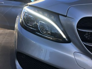 2016 Mercedes-Benz C-Class W205 C200 Silver Sports Automatic