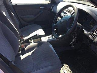 2003 Honda Civic 7th Gen MY2003 GLi White 4 Speed Automatic Sedan